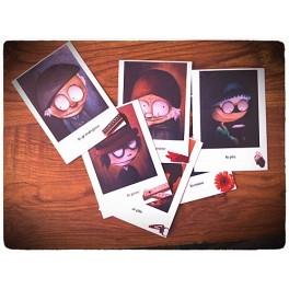 Cartes postales (lot de 6) - La famille complète